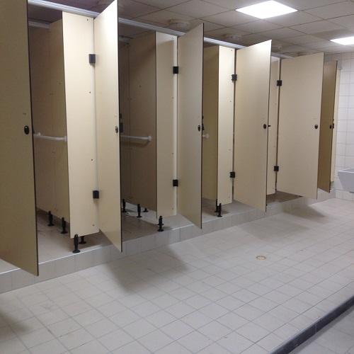 Exemple de douches en céramique