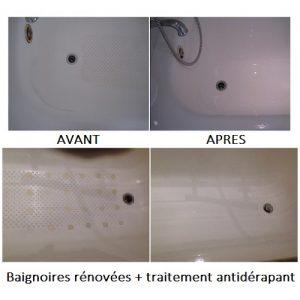 rénovation + antidérapant